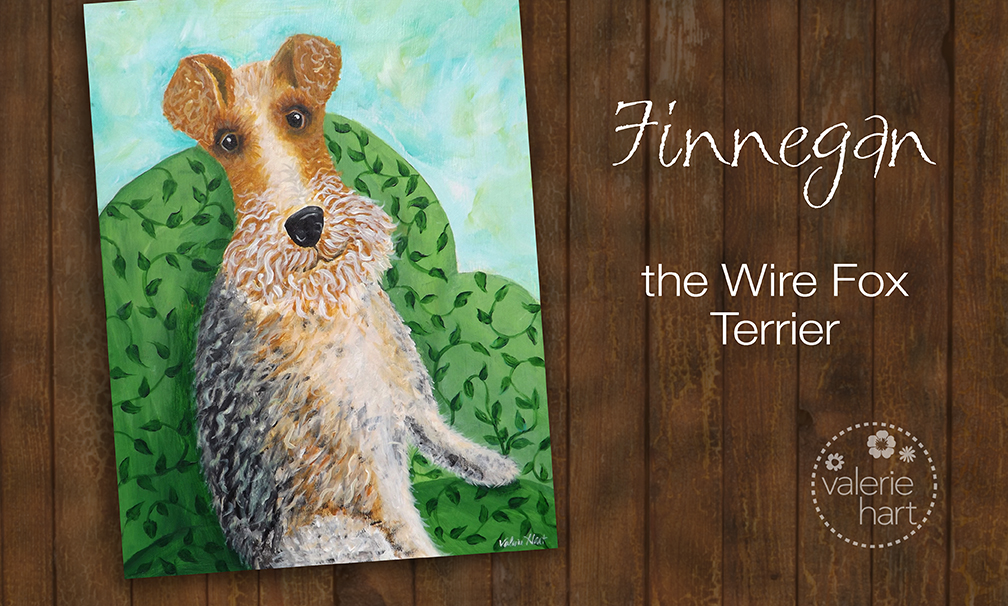 wire fox terrier illustration
